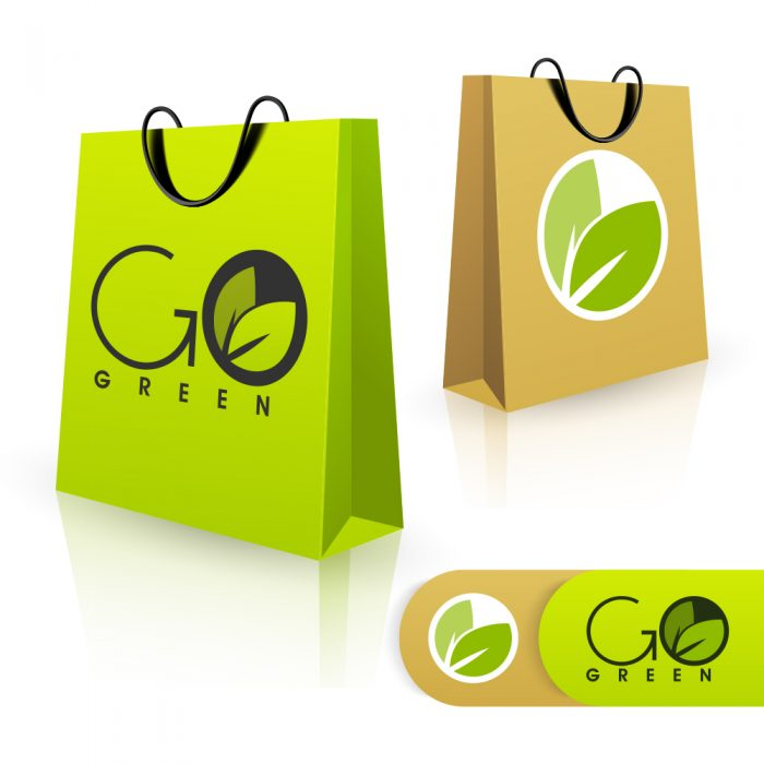 Shopping Bags, Healthy Brand