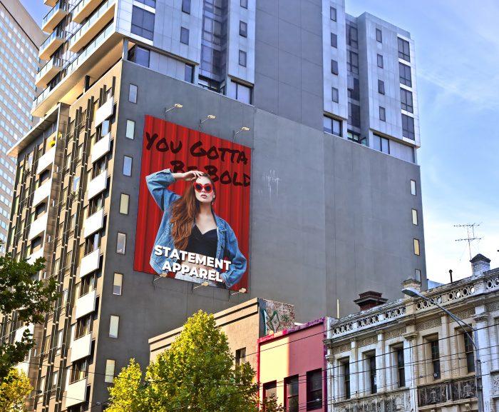 Prints, Large Building Side Ads